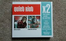 QUIET RIOT X2 CLASSIC ALBUM BOX SET: METAL HEALTH & CONDITION CRITICAL NEW 2008