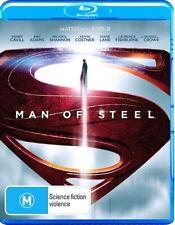 Man Of Steel (Blu Ray, 2013, Region B) DC Superman Henry Cavill Amy Adams NEW