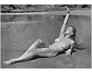 Margaret Nolan Vicky Kennedy nude busty leggy legs print girl female photo 3X7