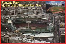 Fenway Park Boston Red Sox MLB Baseball Stadium, Massachusetts Sports - Postcard