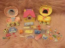 Hamtaro Ham Ham Hamster Figures Playset Accessories lot
