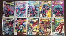 10 Spider-Man Marvel comic books 27,28,29,30,31,32,33,34,35,36 Lot Nm