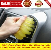 CAR Care Glue Gum Gel Cleaning Air Outlet Vent Dashboard Interior Cleaner
