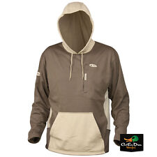 DRAKE WATERFOWL BREATHLITE PERFORMANCE 2.0 HOODIE OLIVE AND TAN 3XL