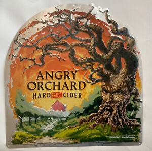 "Angry Orchard Hard Fruit Cider Tin/Metal Sign ""NEW"""