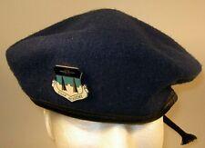 US Air Force Academy USAFA Novelty Insignia Crest Badge Beret  7 3/4  62