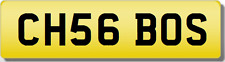 CH CHS CHRIS  THE BOSS!!   Private CHERISHED Registration Number Plate