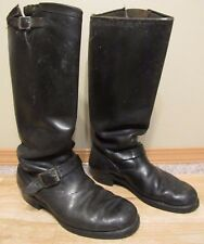 Vintage Chippewa Lineman Engineering Campus Motorcycle Boots size 9