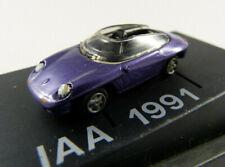 "Porsche Panamericana ""IAA 1991"" lila r+h in PC-Vitrine 1:87 H0 ohne OVP [BA13]"