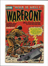 "WARFRONT #7 [1952 VG+] ""AMBUSH!""    HARVEY COMICS"