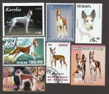 Ibizan Hound * Int'l Dog Postage Stamp Art Collection * Unique Gift Idea *