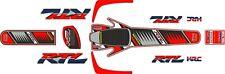 Montesa Cota 315R Honda RTL 315R  Fujigas Replica style Sticker / Decal set
