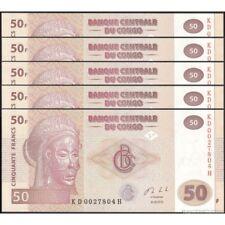 TWN - CONGO DEM. REP. 97A - 50 Francs 30/6/2013 UNC KD-H (HdM) DEALERS x 5