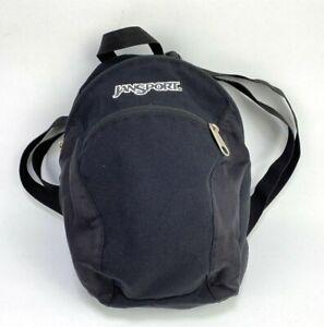 JanSport Half Pint Mini Backpack Black Unisex