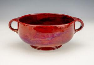 Antique Moorcroft Pottery - Flambe Lustre Glazed Vase - Liberty's Arts & Crafts