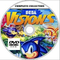 SEGA VISIONS magazine COMPLETE COLLECTION 25 issues! PDF format on DVD sonic etc