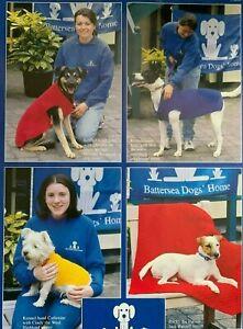 Dog Coats & Blanket DK Size Sm Med Large  Vintage Knitting Pattern  L115