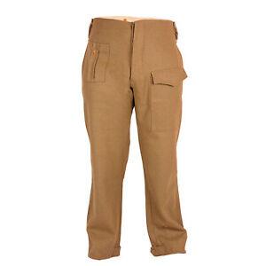 WW2 Reproduction British 37 Pattern Battle Dress Uniform Trousers (BDU) Dc109