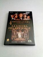 "DVD ""LA LOCURA DEL REY JORGE"" COMO NUEVO NICHOLAS HYTNER HELEN MIRREN RUPERT EVE"