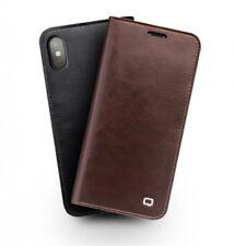 qialino Cuero natural Funda para Apple iPhone x de Móvil Cubierta - marrón (4br)