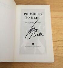 Joe Biden Vp Autograph Signed Promises To Keep Pb Book 2020 President No Pers