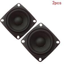 """2pcs 2"""" inch 4Ohm 3W Full Range Audio Speaker Stereo Woofer Loudspeaker 52mm Pro"""