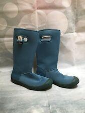 Bogs Summit Waterproof Boots Blue Girls Size 13