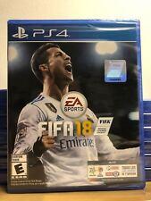 NEW SEALED - FIFA 18 EA Sports FIFA 2018 PS4 (Sony PlayStation 4, 2017)