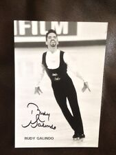 Rudy Galindo ~ 5x7 Hand Signed Autograph ~ U.S. Ice Skater