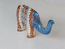 """Wonderful Mid Century 3.5"""" PAL Abraham Palatnik Lucite Elephant Brazil Signed"""