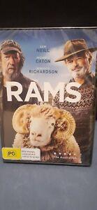 RAMS - DVD - SAM NEIL & MICHAEL CATON - BRAND NEW - REGION 4  AUS -   $14