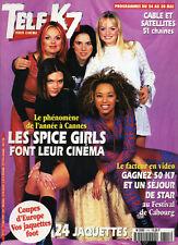 Magazine Télé K7 n° 715,  SPICE GIRLS