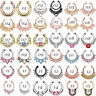 1PC Fake Clip On Nose Hoop Ring Open Ear Septum Body Piercing Jewelry Faux Hoop