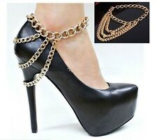 Beautiful Gold Shoe/Anklet Jewellery - Accessorise your Shoes!!