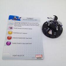Heroclix Avengers Assemble set Turbo #009 Common figure w/card!