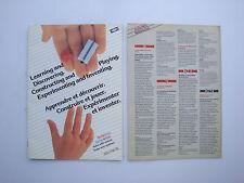 Catalogue ancien jouets jeux de construction Fischertechnik Fisherform 1983 n°1