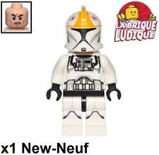 Lego Figura Minifig Star Wars Clone Trooper Piloto Pilot Amarillo sw0609 Nuevo