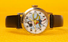 Women's Vintage WONDER WOMAN by DABS Mechanical Hand-Wind-Up Watch SWISS MADE