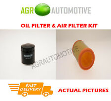PETROL SERVICE KIT OIL AIR FILTER FOR RENAULT CLIO 1.2 58 BHP 1998-10
