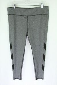 Everlast Leggings XL Gray Womens Pants Workout Sport Athletic Yoga Heathered 1R