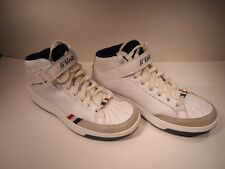 Original REEBOK G-UNIT G6 MID WHT/NAVY/RED size 10.5 vintage PADS!
