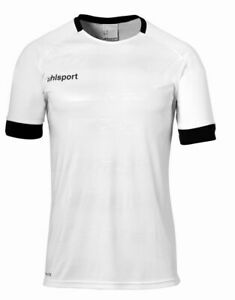 Uhlsport Sports Football Kids Training Short Sleeve SS Shirt Jersey Crew Neck