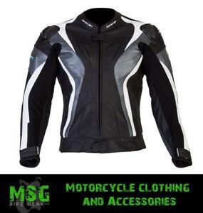 SPADA CURVE WP WATERPROOF MOTORCYCLE MOTORBIKE TEXTILE JACKET BLACK/GREY/WHITE