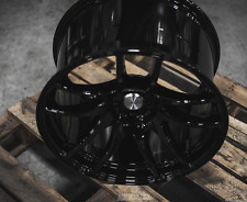 ESR SR08 19x9.5 +35 19x10.5 +22 5x114.3 Black G35 350z Genesis Supra G37 RX8