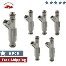 Set 6 24LB 250cc Fuel Injector For 85-05 BMW 530i 325i 323i 97-01 Audi EV1 V6 I6