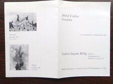 Invitation Exposition Vernissage Michel Valdrac Galerie Bollag Zurich 1963  8