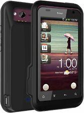 PowerSkin Batterie Étui Pour HTC Thunderbolt, Noir