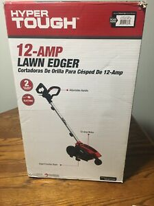 Hyper Tough Electric Lawn Edger 12-Amp Corded 3-Setting NEW!