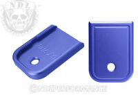 for Glock Magazine Plate 17 19 22 23 26 27 34 35 9mm 40cal Blue Pick Laser Image