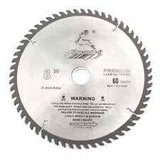 """8"""" Inch Wood Cutting 60Teeth Saw Blade Circular Saw Blade High Quality"""